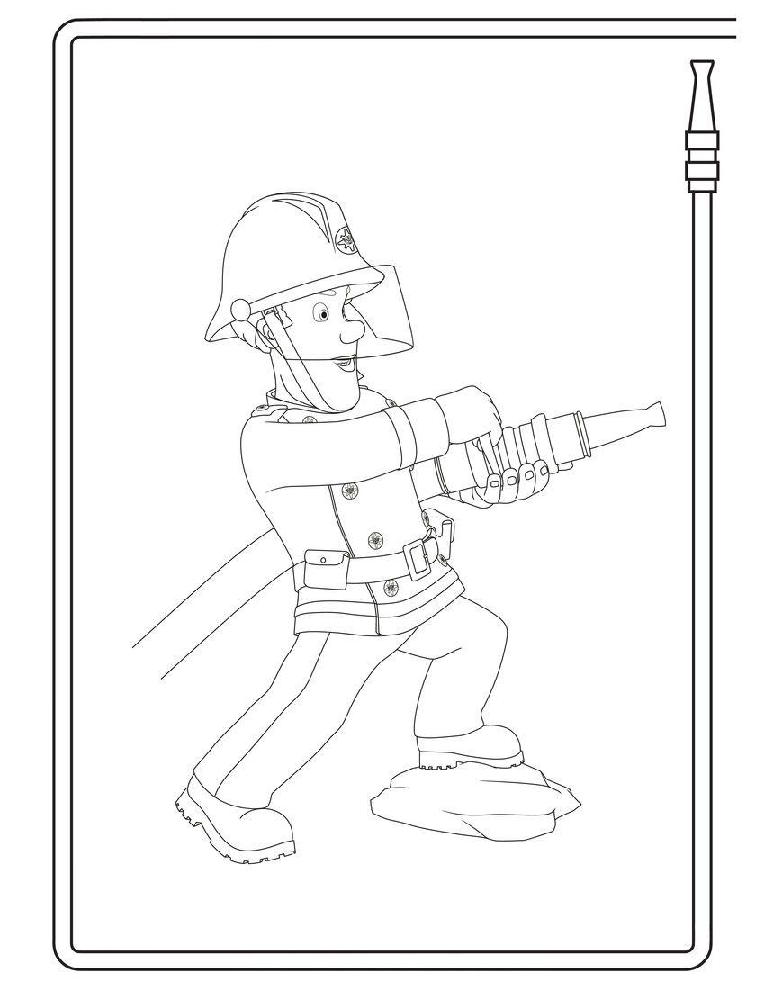 Brandweerman Fireman Sam Fireman Abc For Kids
