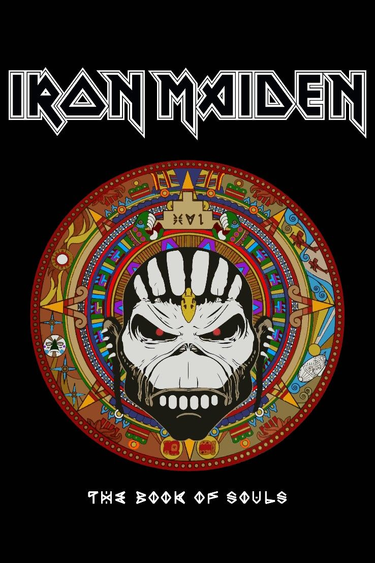 fa36590741 Iron Maiden. Book of Souls | Iron Maiden. | Iron maiden cover, Iron ...