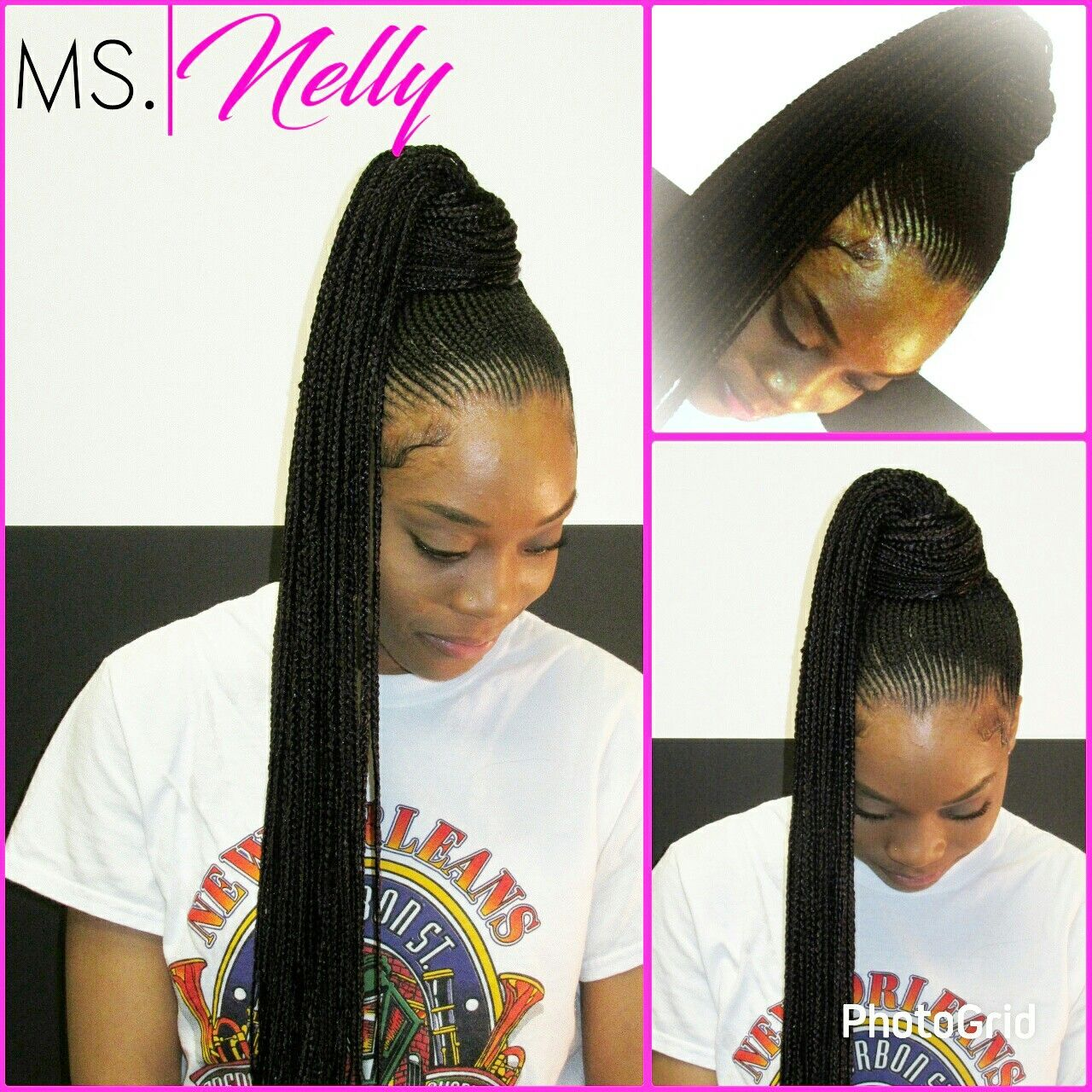 Nicki Minaj Inspired Ponytail Thick Hair Styles Love Hair Natural Hair Styles