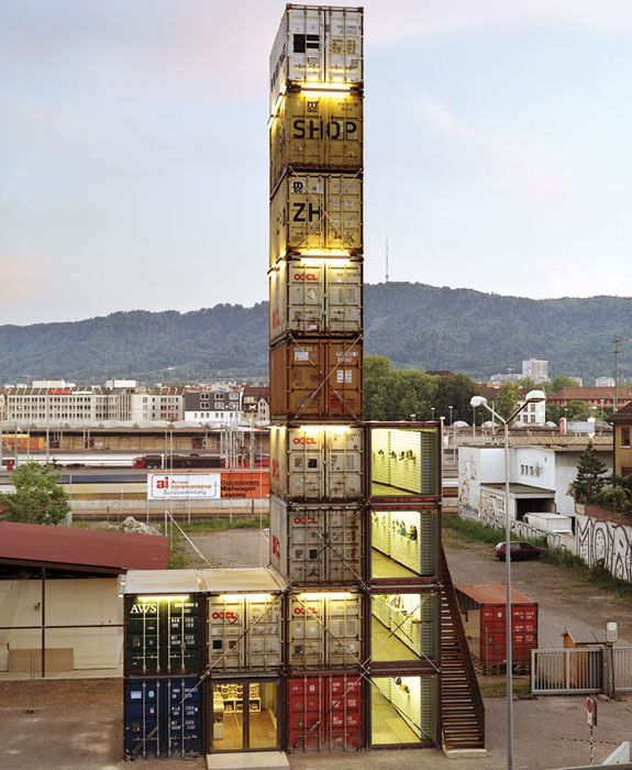 Cool container houses freitag shop zurich hope they dont have cool container houses freitag shop zurich hope they dont have earthquakes there solutioingenieria Choice Image