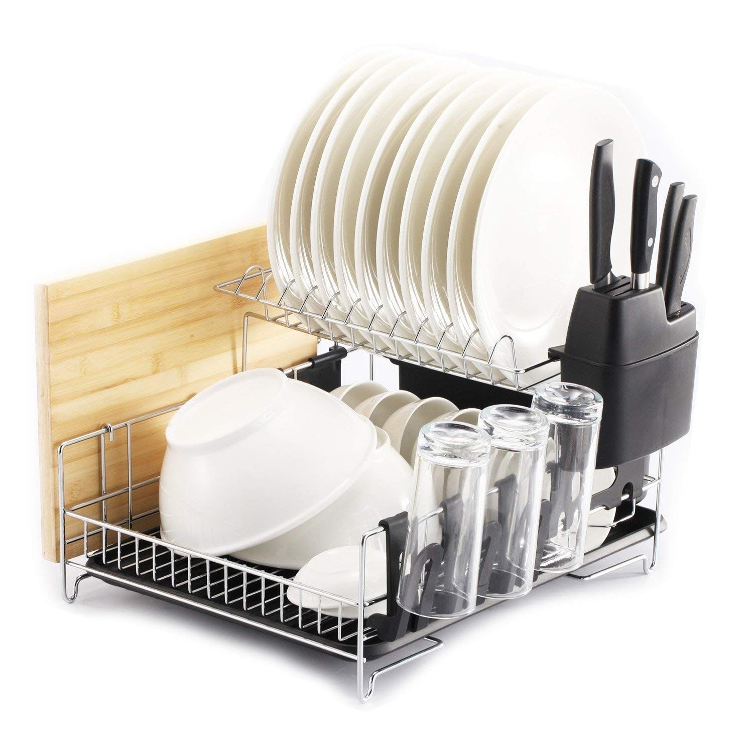 Top 10 Best Dish Drying Racks In 2020 With Images Dish Rack Drying Dish Racks Dish Drainers