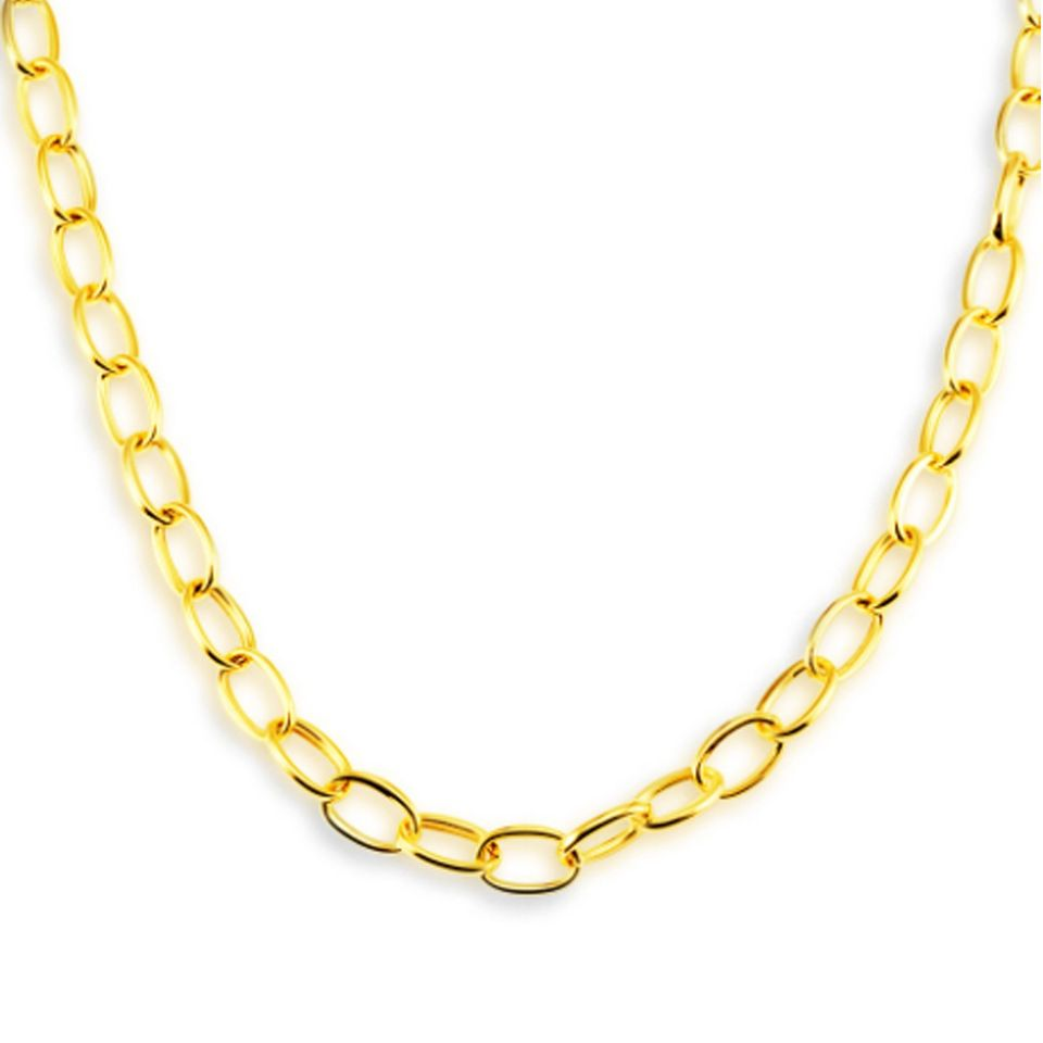 2018 Dubai Jewelry 14K Gold Filled Plated Long Neck Chain ...