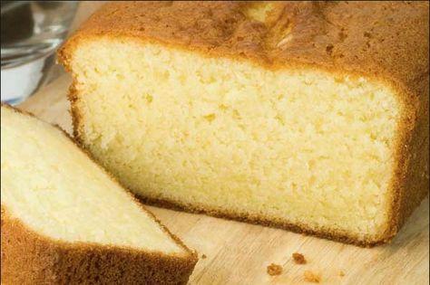 ¿Y qué tal un queque seco para el café? ¡Hágalo en casa!