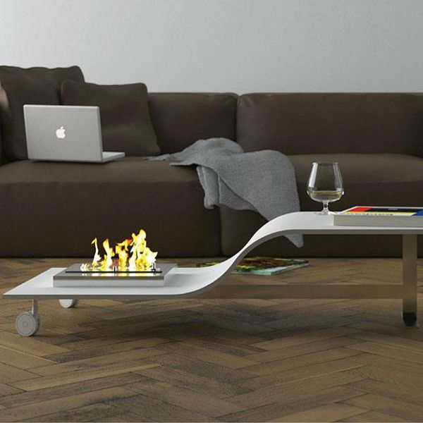 This Fire Pit And Coffee Table Combination Definitely Not Kid Friendly