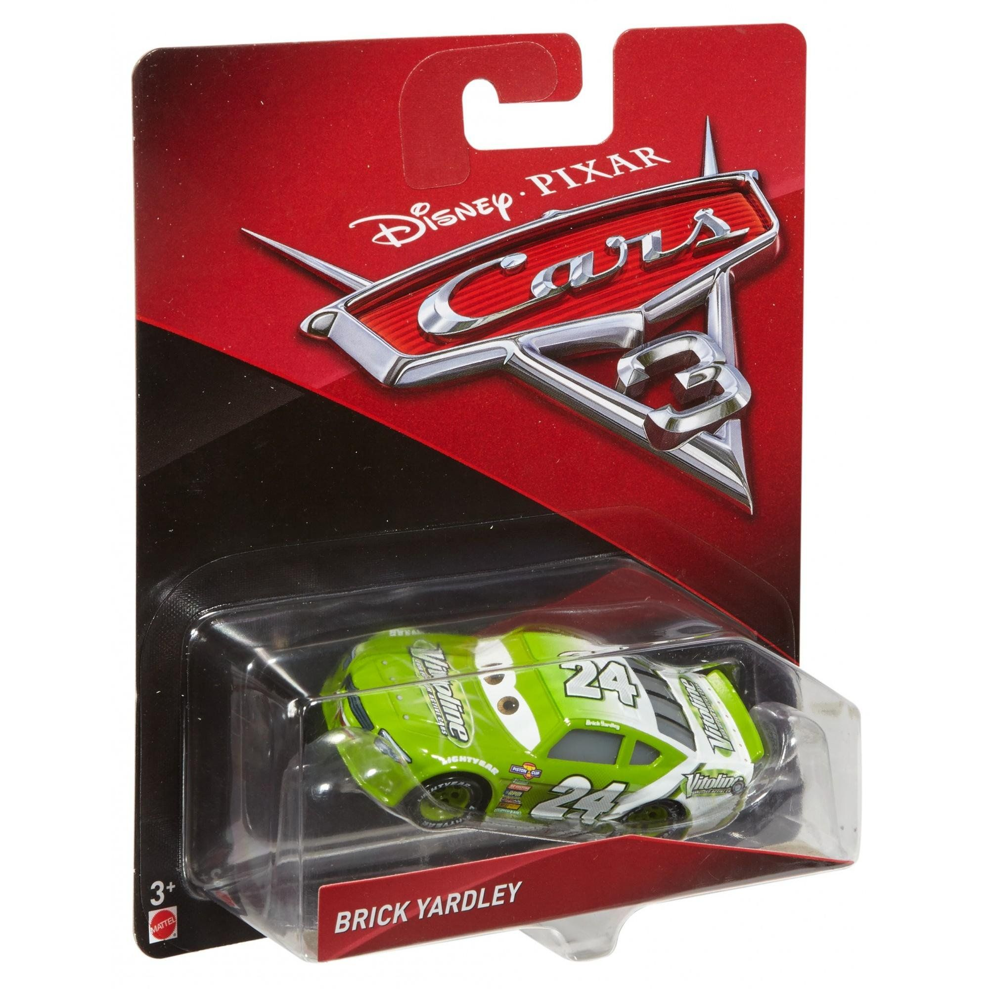 Disney/Pixar Cars 3 Brick Yardley DieCast Character