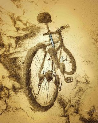mountain bike art pictures and photos by tensionnotcom