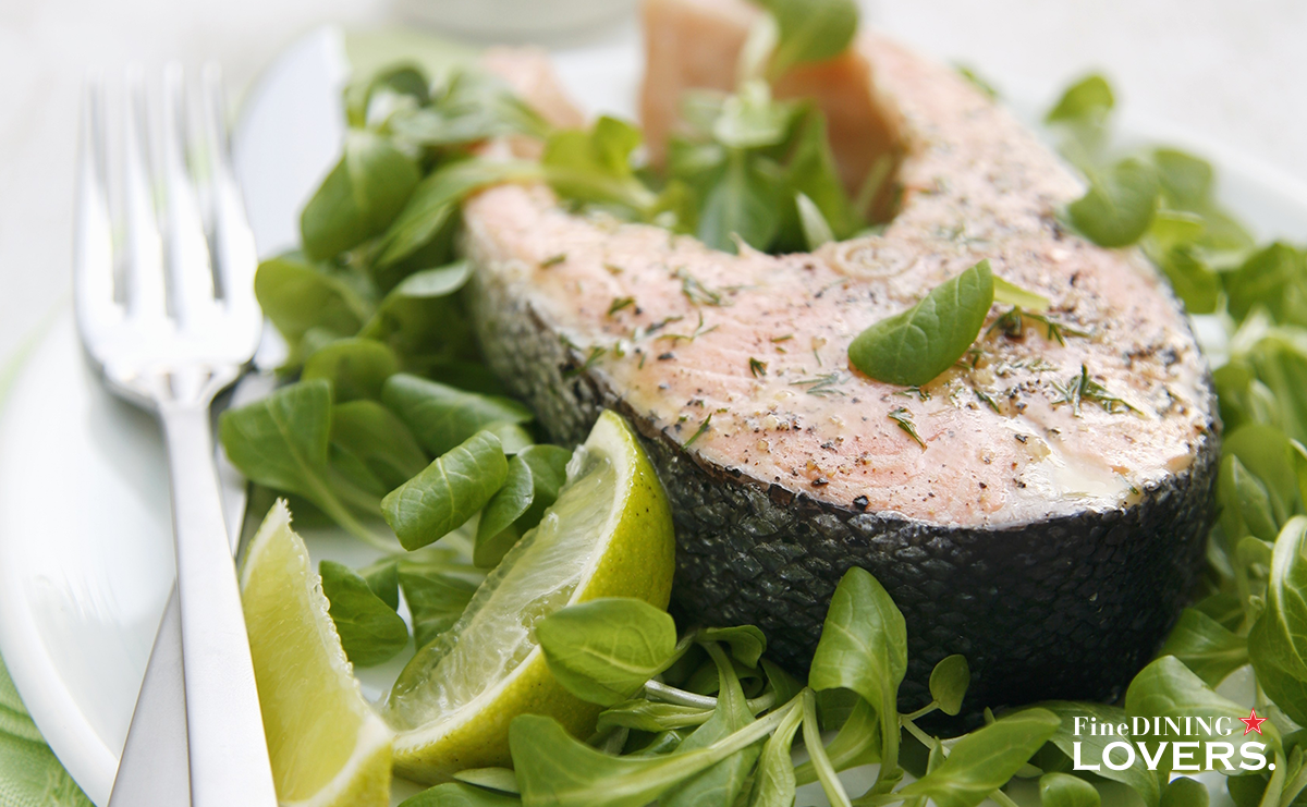 Salmon: delicious and very versatile, it can be cook in many ways. Discover a new tasty one! 😋