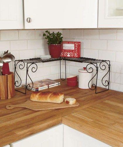 Kitchen Counter Corner Shelf Kitchen Ideas Corner Shelves Kitchen Kitchen Counter