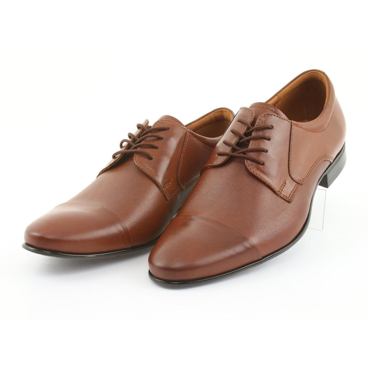 Boots With Leather Binding Tur Brown Leather Shoes Men Dress Shoes Men Shoes Mens