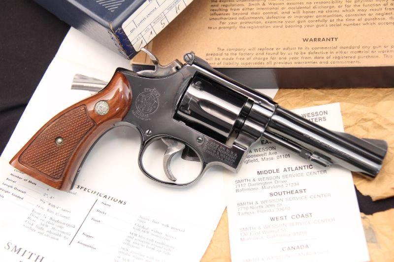 Smith & Wesson, S&W Model 15-3 K-38 Combat Masterpiece