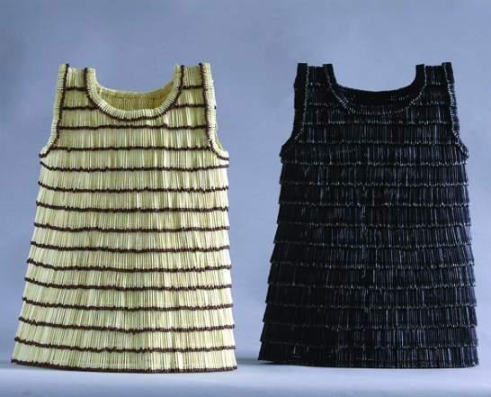 Платье из спичек