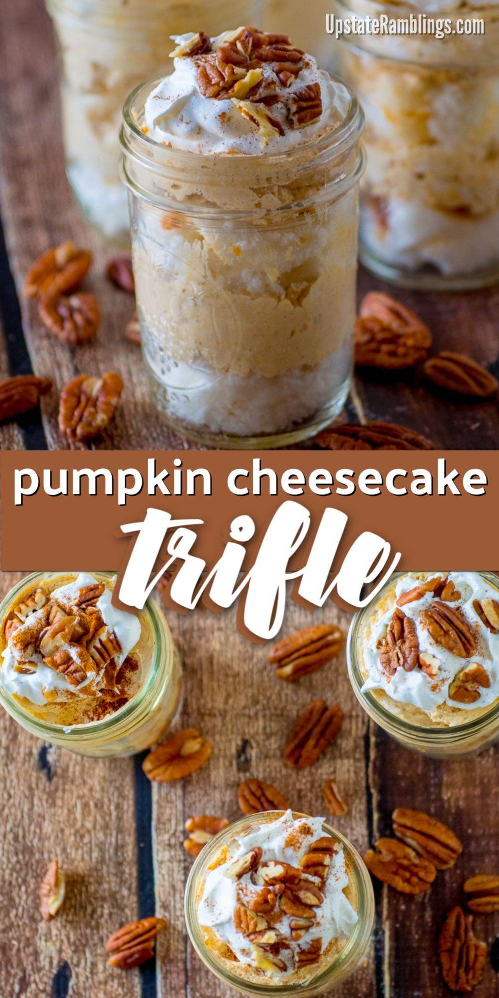 Pumpkin Cheesecake Trifle images