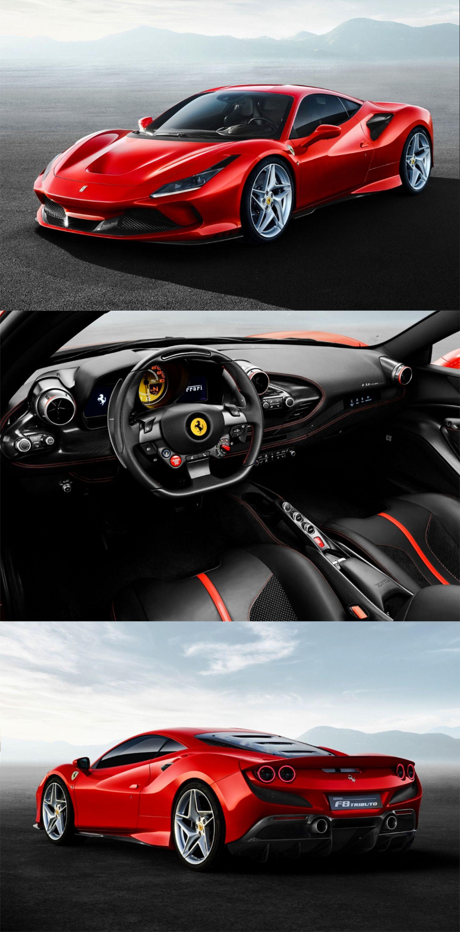 Double Headlights?! Back To \u002780s?! The New Ferrari F8