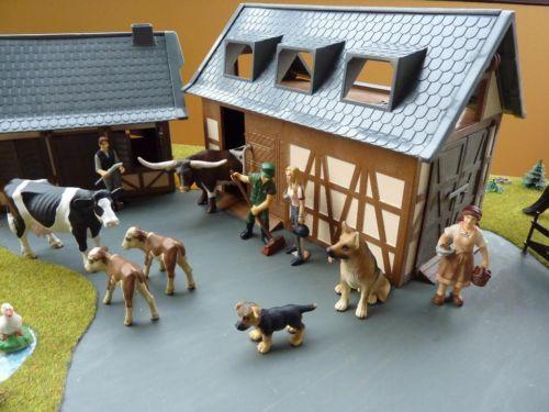 bauernhof mit 20 schleich tieren figuren in hessen sulzbach weitere spielzeug g nstig kaufen. Black Bedroom Furniture Sets. Home Design Ideas