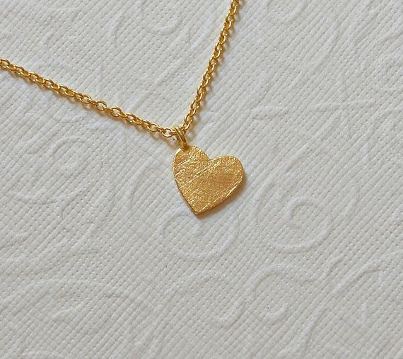 heart pin tiny necklace gold o l chains v and e flat