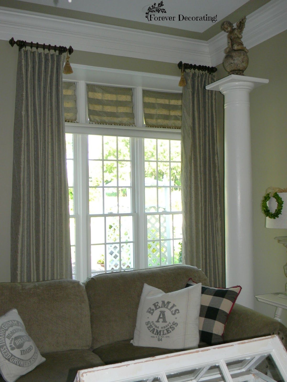 Curtains for windows with transoms realtagfo pinterest