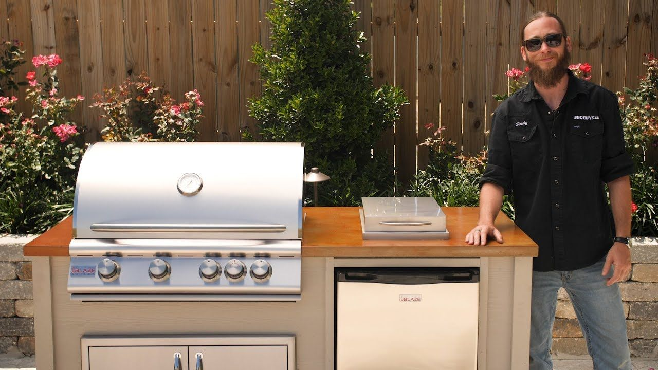If You Are Thinking About Building An Outdoor Kitchen But You Don T Want To Deal With The Hassle Of Build Outdoor Kitchen Outdoor Kitchen Kits Outdoor Kitchen