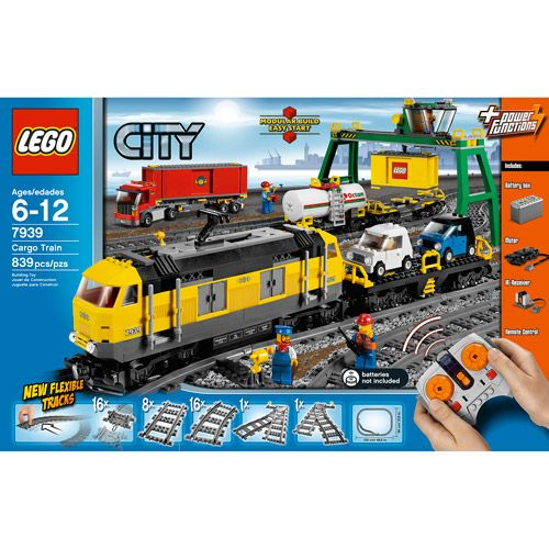 Brand New Hot Custom City Cargo Train Compitible TO Lego 60052 Manual Book