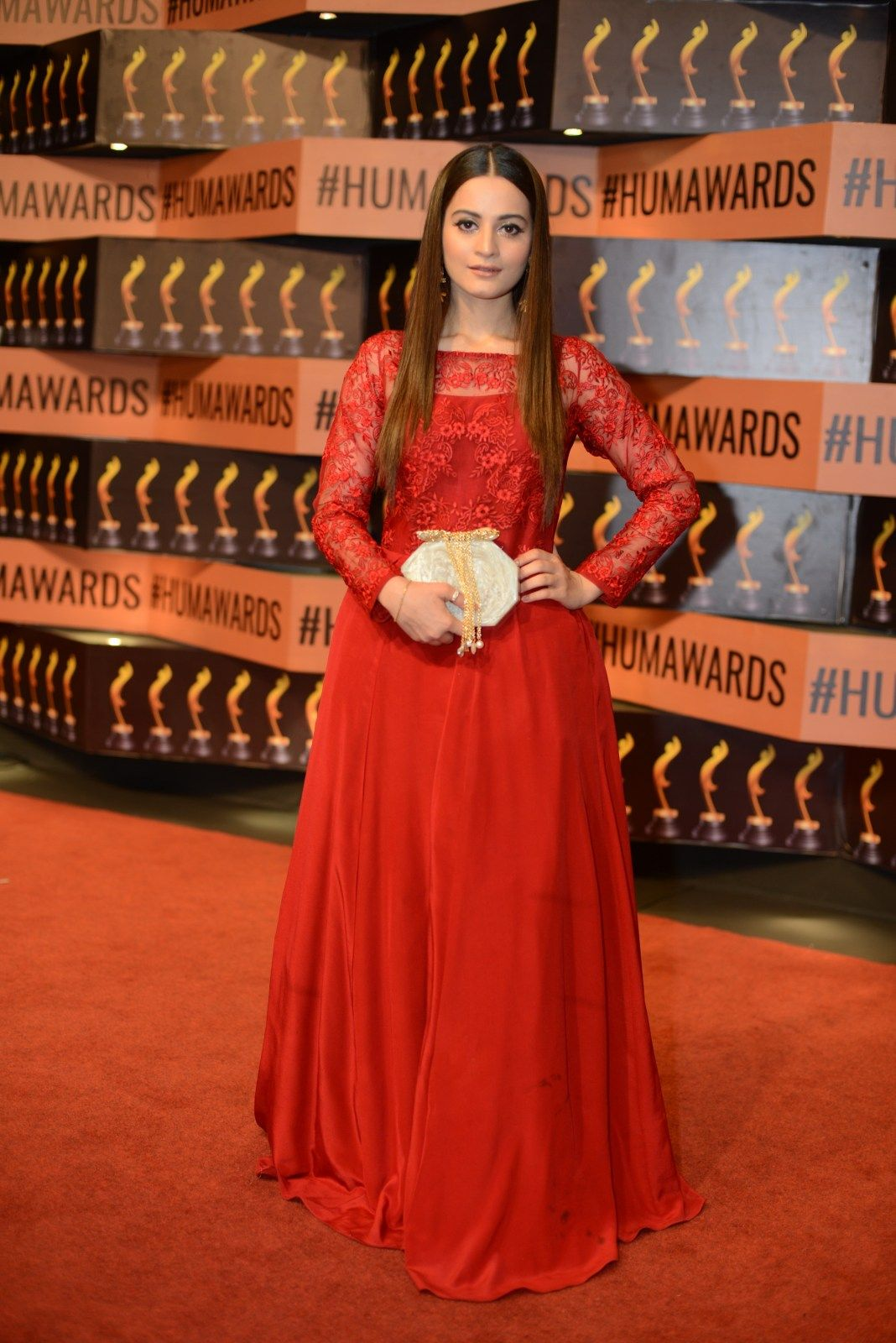 Aiman Khan at Hum Awards | Lollywood in 2019 | Formal