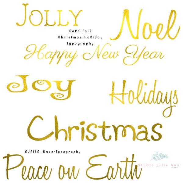 Gold foil holiday word art typography christmas greetings clipart gold foil holiday word art typography christmas greetings clipart new years clip art text png graphics by studiojulieann on etsy studio julie ann m4hsunfo