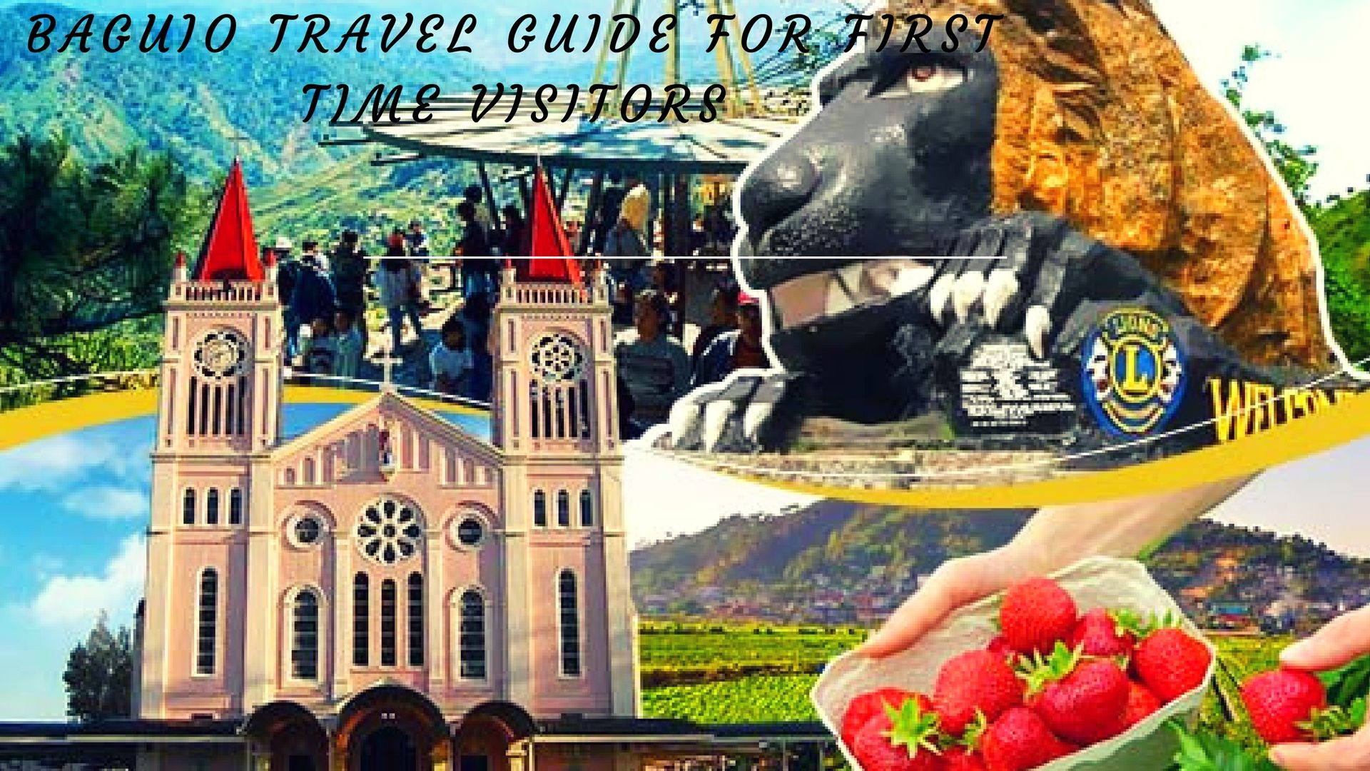 Baguio travel guide for first time visitors travel guide