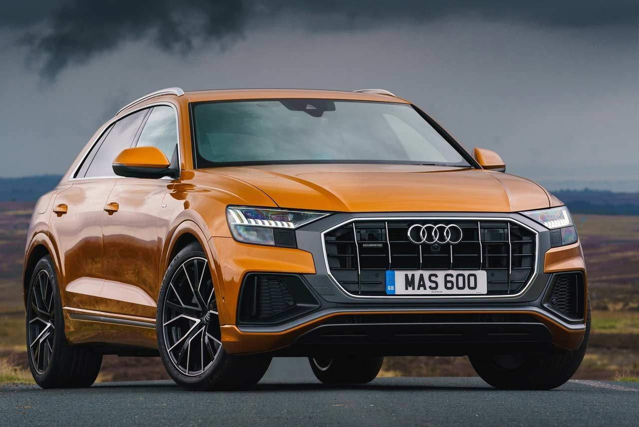Audi The German Luxury Car Manufacturer Launched The New Audi Q8 A Combination Of A Four Door Luxury Coupe And A Versatile Suv In 2020 Audi Suv Prices Sport Seats