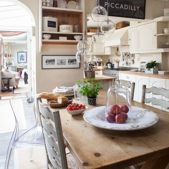 Home Decorating Ideas Farmhouse Gorgeous 60 Cozy Modern: French Farmhouse-style Kitchen-diner