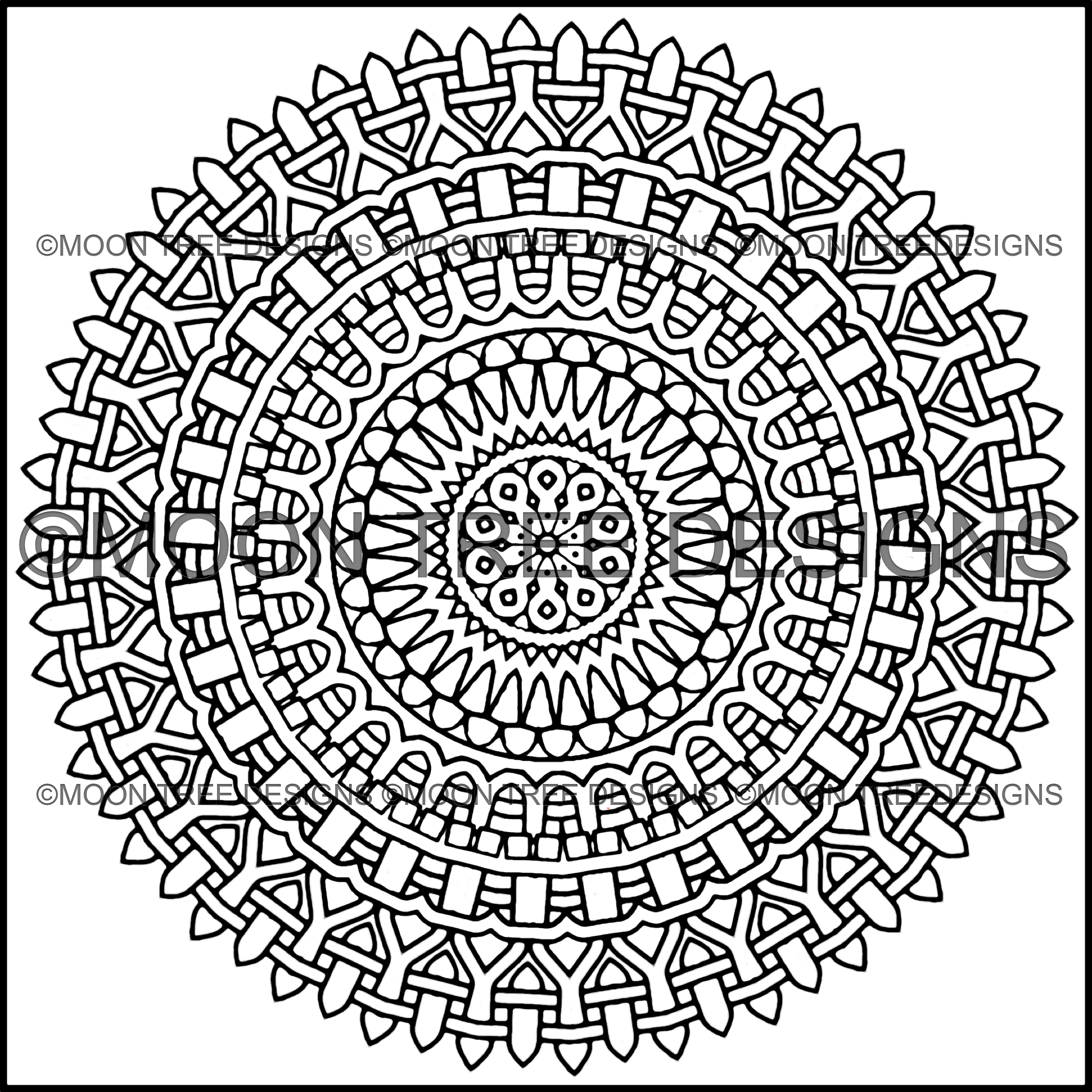 A Coloring Book that can be downloaded and colored. You