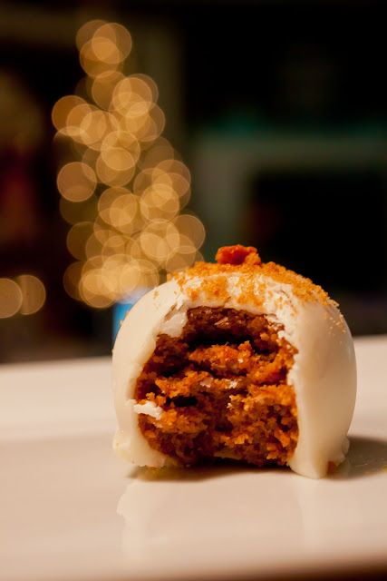 Gingerbread cake balls recipe