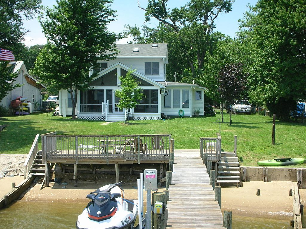 House vacation rental in cobb island from