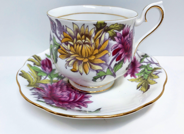 Royal Albert Tea Cup, Flower of the Month, November