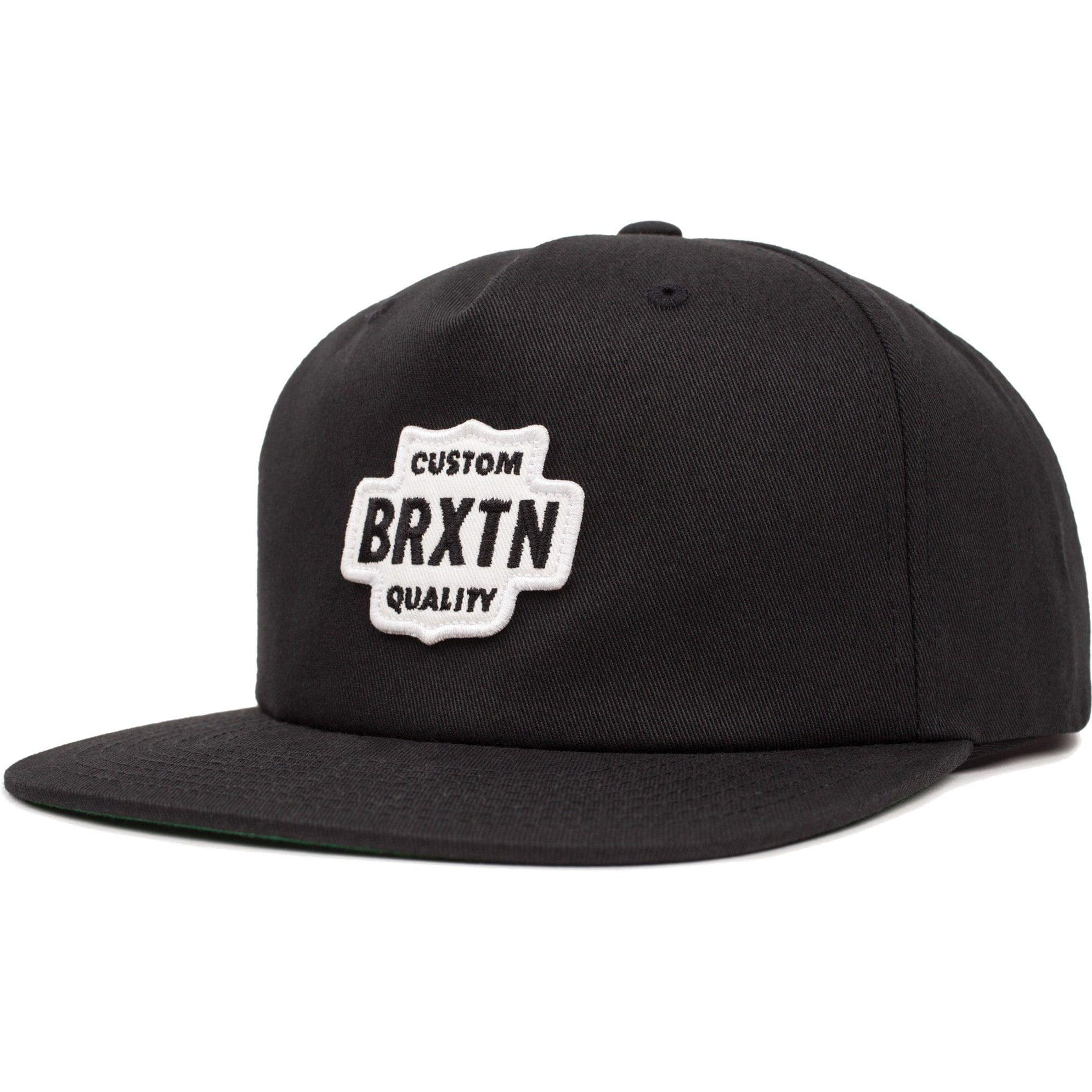 4168b0539 Brixton Garth Cap - Black/White in 2019 | CLOTH | Brixton, Baseball ...