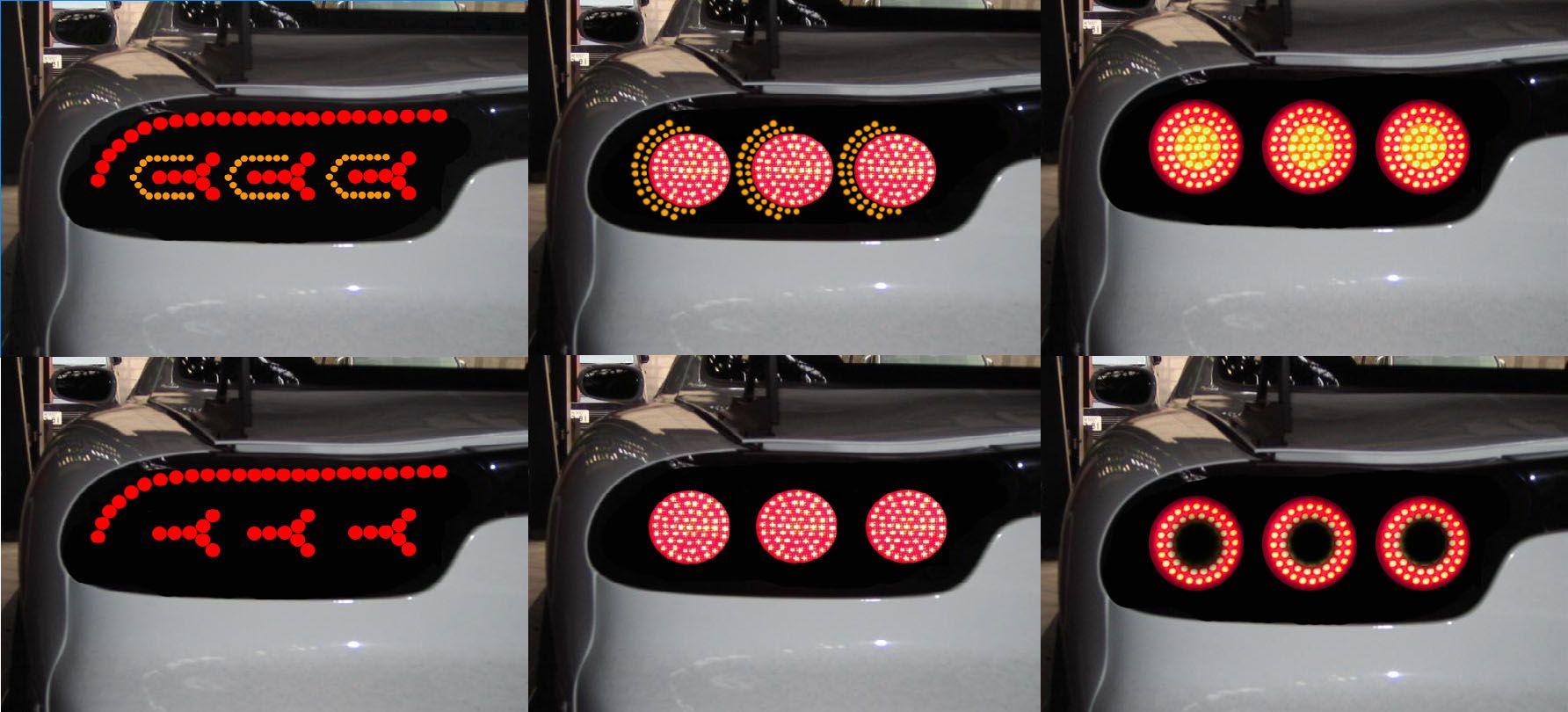 Fd Led Tail Lights Concepts Rx7club Com Auto Led Tail Lights