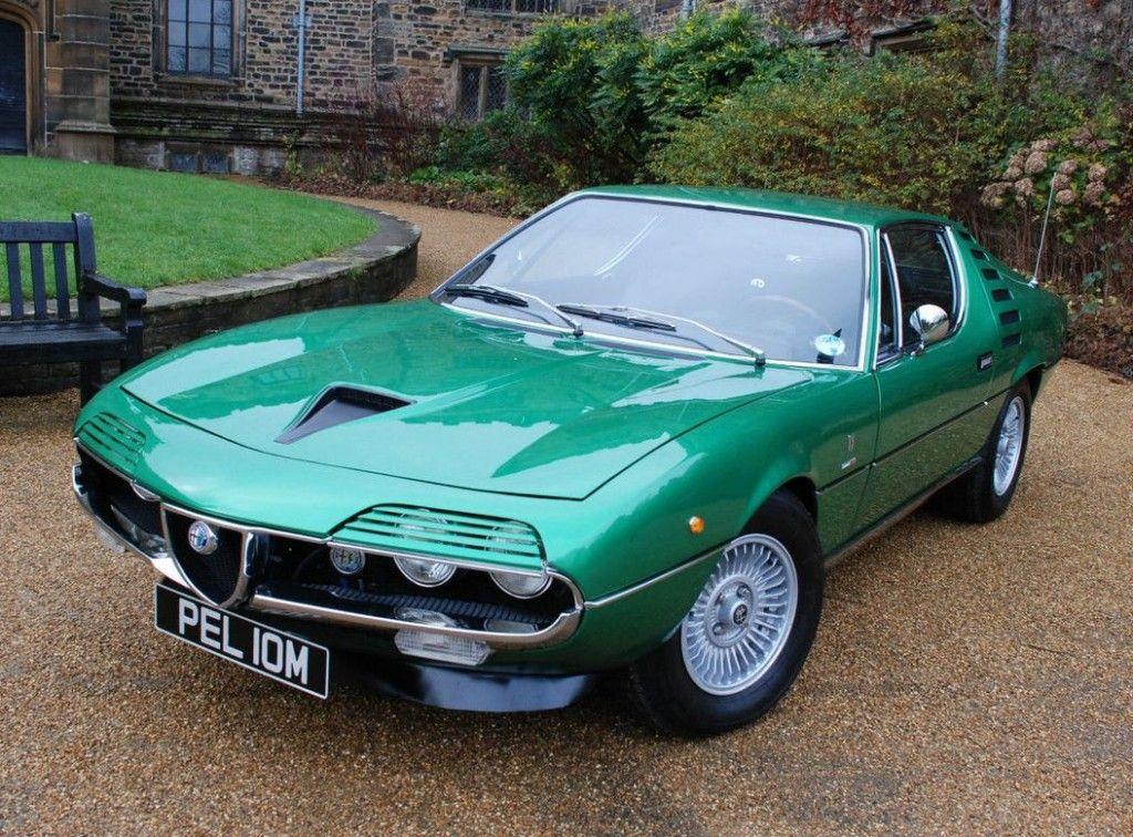 Detailed Restoration 1972 Alfa Romeo Montreal Alfa Romeo Classic Sports Cars Classic Cars Muscle