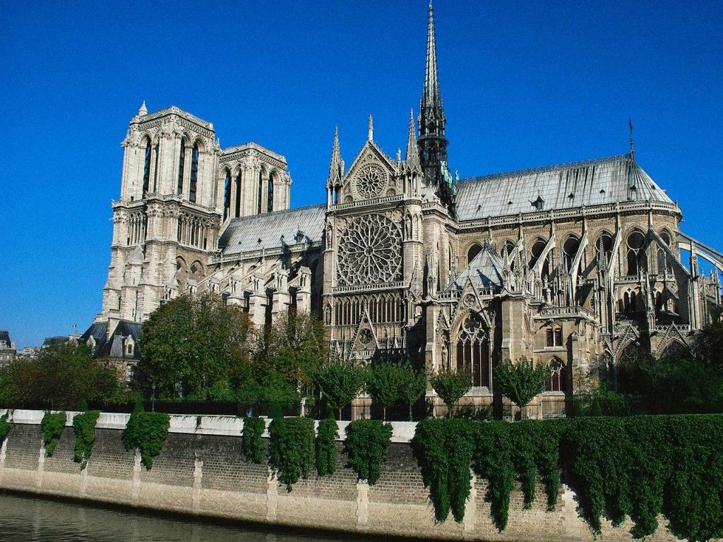 France Paris Notre Dame - HD Travel photos and wallpapers | Paris tourist  attractions, Cathedral, Paris history