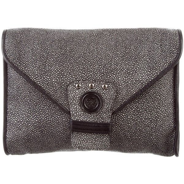 Longchamp Pre-owned - Leather clutch bag l5G3t