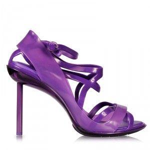 Jean Paul Gaultier + Melissa Shoes Heeled Sandal Purple