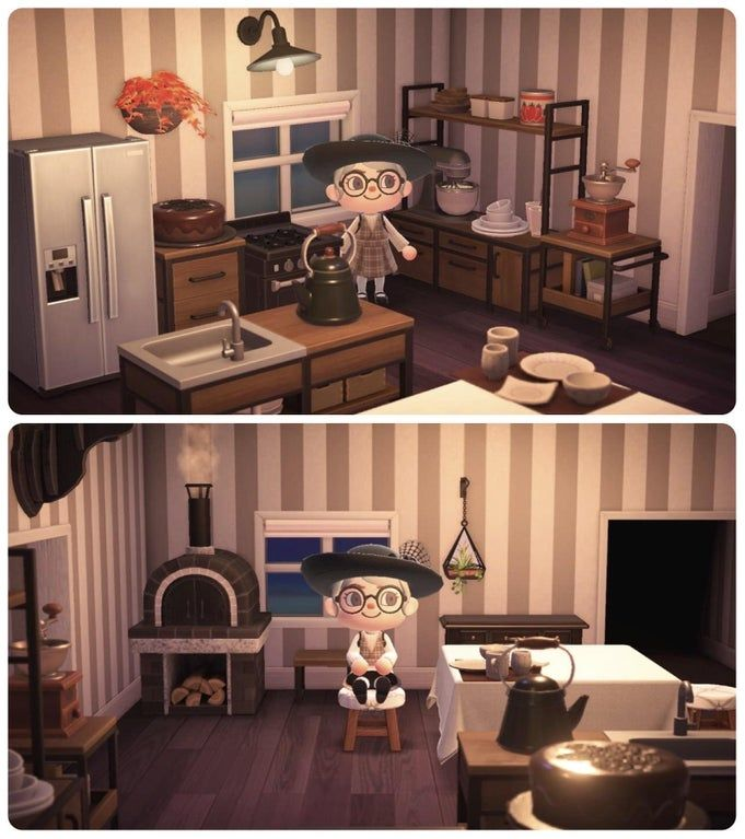 I just feel so at home in my little kitchen space ... on Animal Crossing Kitchen Island  id=44256