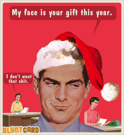 86c70cf39f564a3eeb3ccb8df6684430 office christmas party my face is your gift this year (i don't