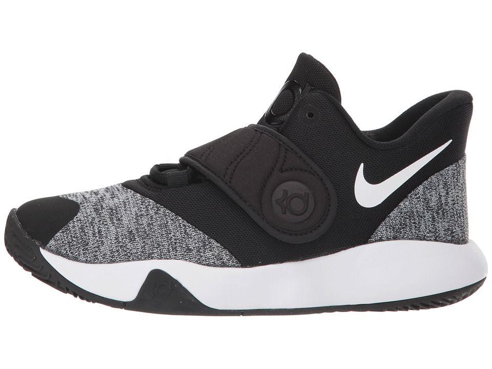 a421a3733dce Nike Kids KD Trey 5 VI (Big Kid) Boys Shoes Black White Black ...