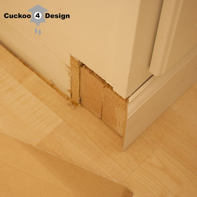 Kitchen Cabinet Kick Plate So I Attached Them With Liquid Nails