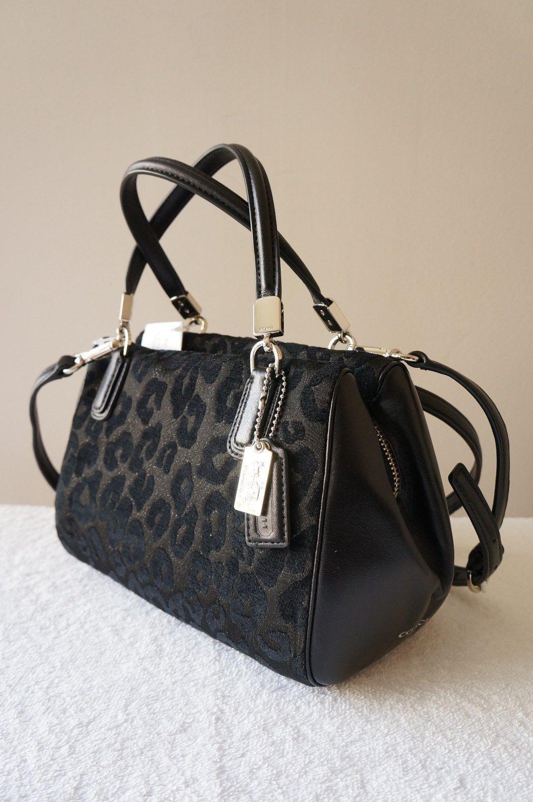 The Chenille Ocelot Mini Satchel from Coach ♡ | Handbags