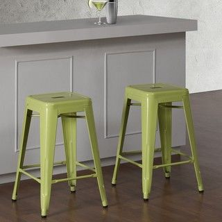 Overstock Com Online Shopping Bedding Furniture Electronics Jewelry Clothing More Metal Counter Stools Counter Stools Green Kitchen Decor