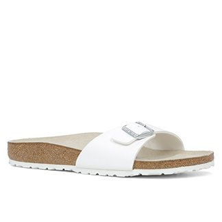 Birkenstock Madrid en blanc 99$ chez Little Burgundy