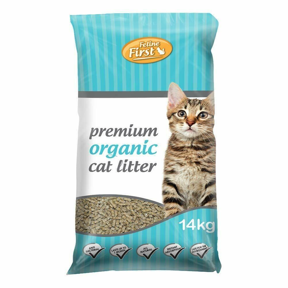 Details about 14kg bag premium organic cat kitty litter