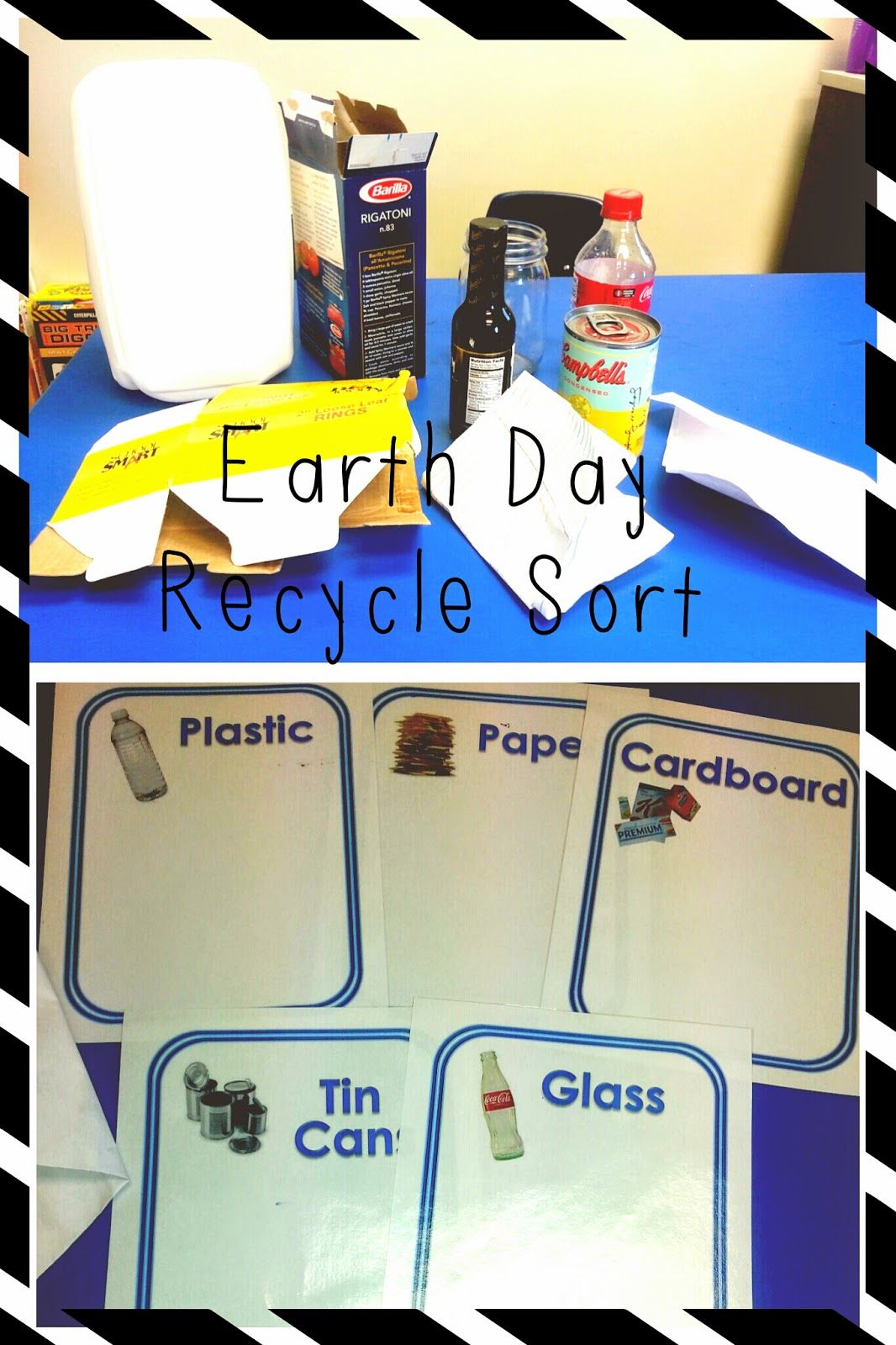 Earth Day Recycle Sort Small Groups Activity