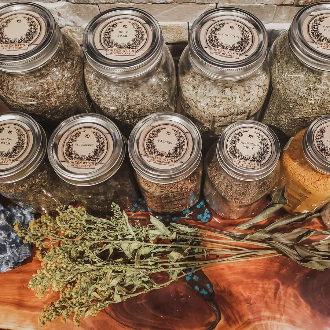 Nothing makes me happier than labeled and organized herbs in mason jars.  Nothing makes me happier than labeled and organized herbs in mason jars. #greenwitchcraft