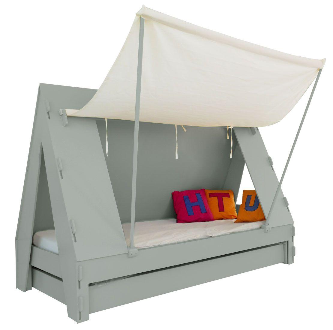 lit enfant tente tiroir lit brico d co diy tente de. Black Bedroom Furniture Sets. Home Design Ideas