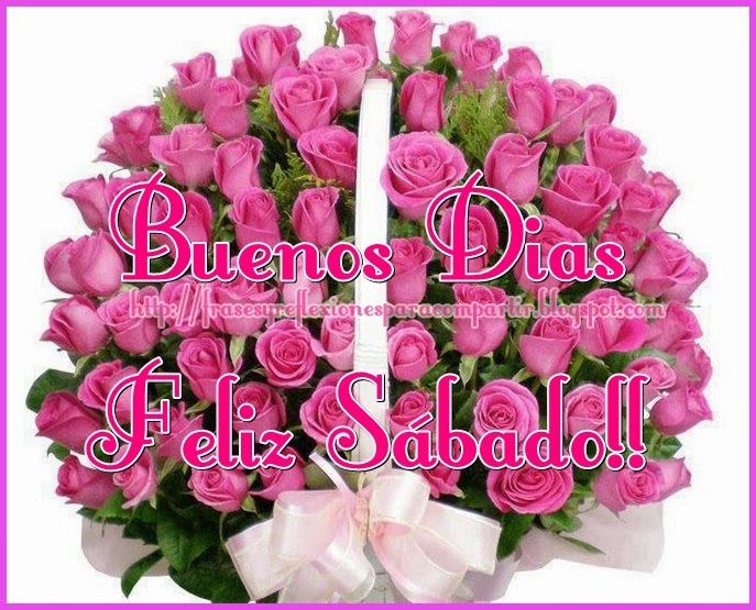 Feliz Sabado Con Esta Hermosas Rosas Feliz Sabado Buenos Dias