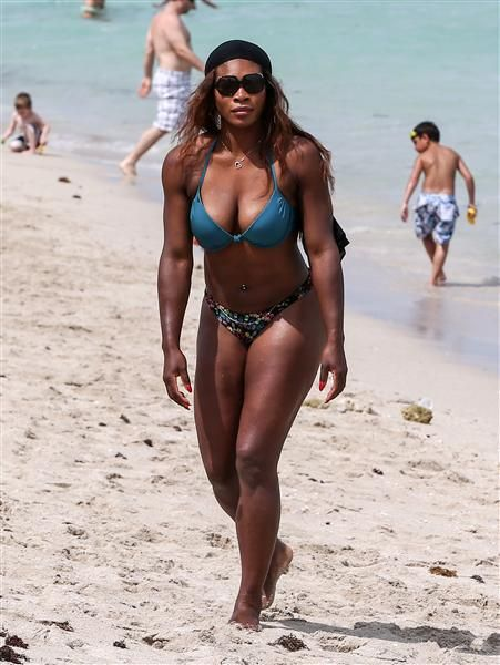 a1f6acc637 Serena Williams blue bikini - Serena Williams  best bikini moments